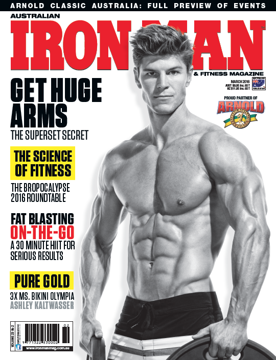 Australian Ironman Cover Mar 2016