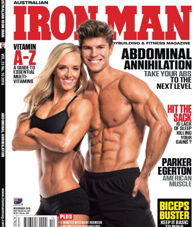 Australian Ironman Cover Nov 2016